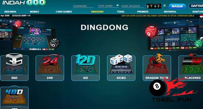 Daftar Situs Judi Dingdong Club Online Uang Asli